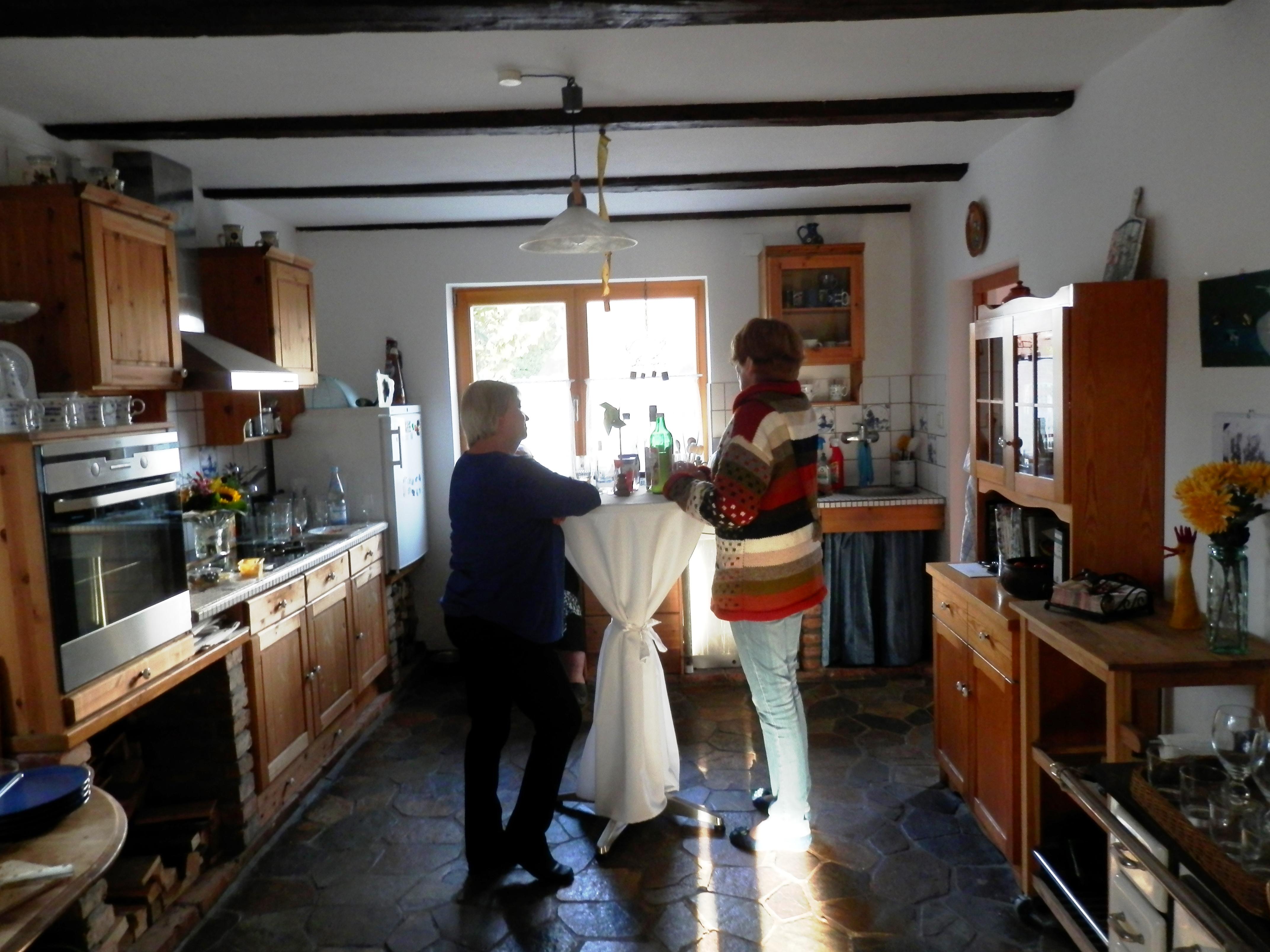 Plausch in der Küche