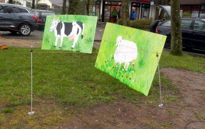 Kuh und Schaf von Birgit