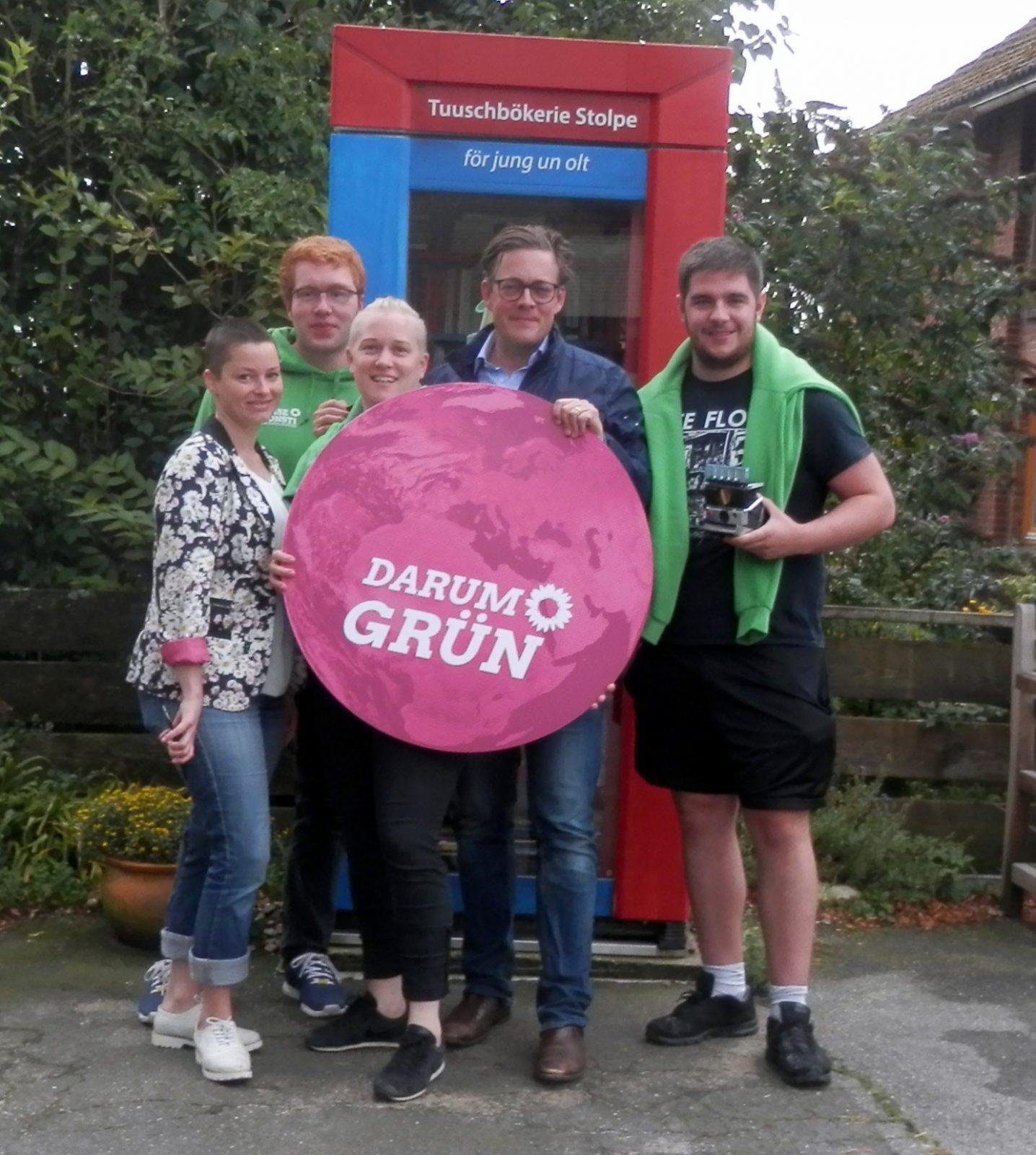 Konstantin und sein Green-Team