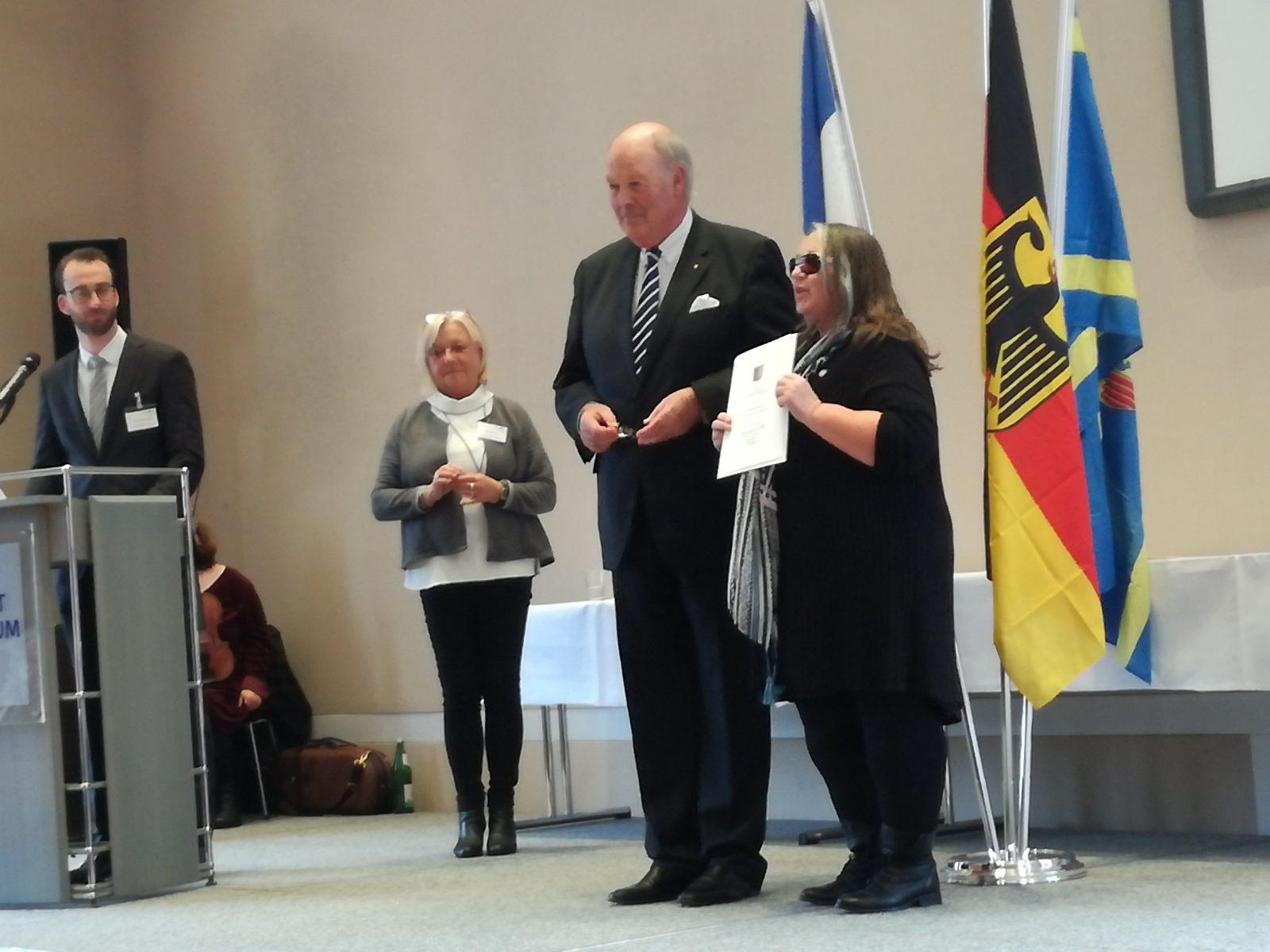 Verleihung der Freiherr-vom-Stein Verdienstnadel