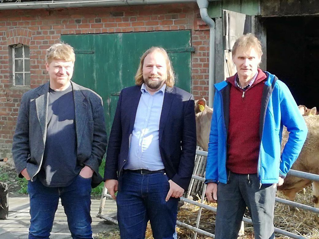 Matthias Stührwoldt, Anton Hofreiter und Dirk Kock-Rohwer