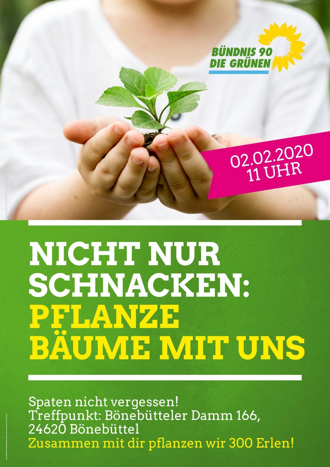Baum-Pflanzaktion in Bönebüttel